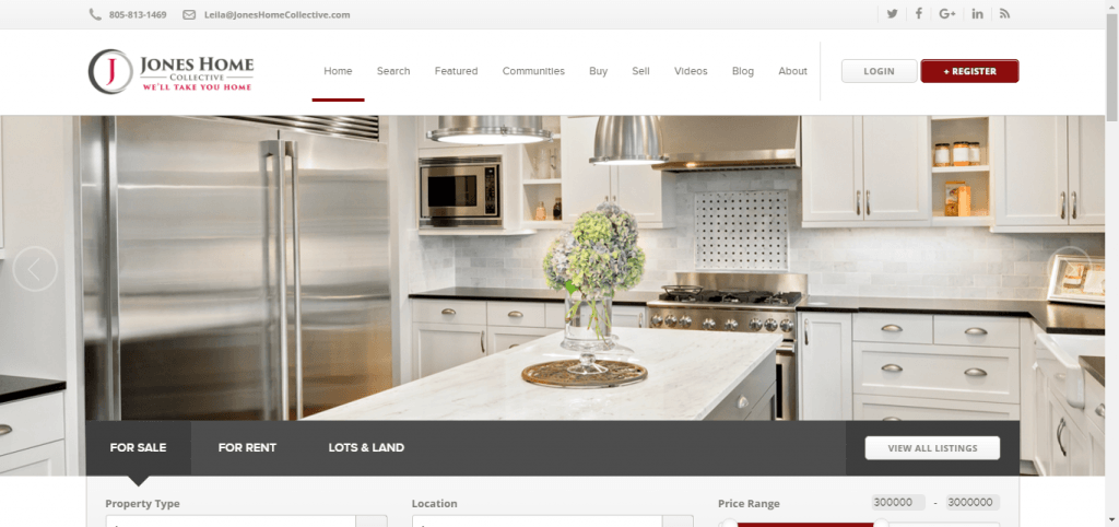 Keller Williams Website Designs